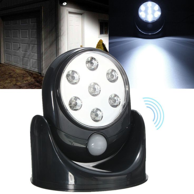 Sensor night lights 25 pinterest led motion activated cordless sensor night light for indoor outdoor security mozeypictures Gallery