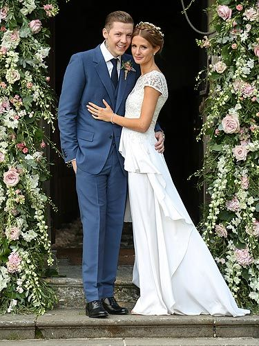 All the pictures from Millie Mackintosh and Professor Green's Babington House wedding