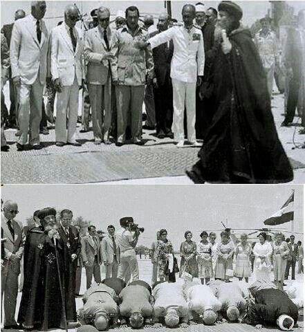 Pope Shenouda.