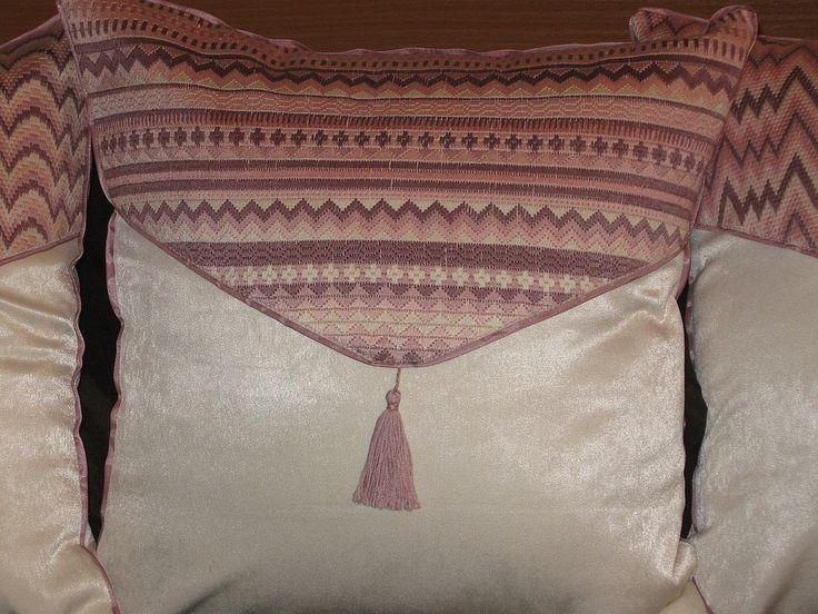"""Купить набор подушек """"Сиреневые сны"""" (4 шт) - подушка декоративная, диванная подушка"""
