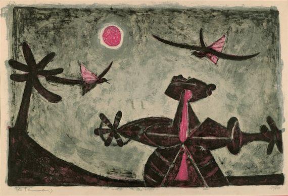 Rufino Tamayo, Observador de Pájaros (P. 31)