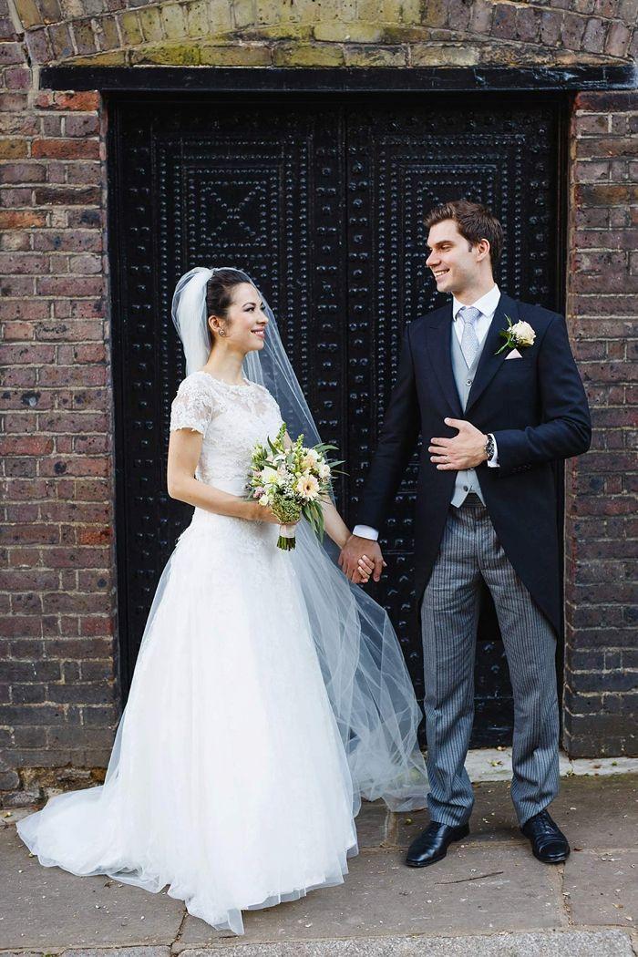 Elegant Hampstead Burgh House Wedding London by Kirsten Mavric Photography