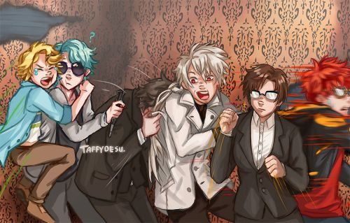 The Mystic Messenger team go to a haunted house!