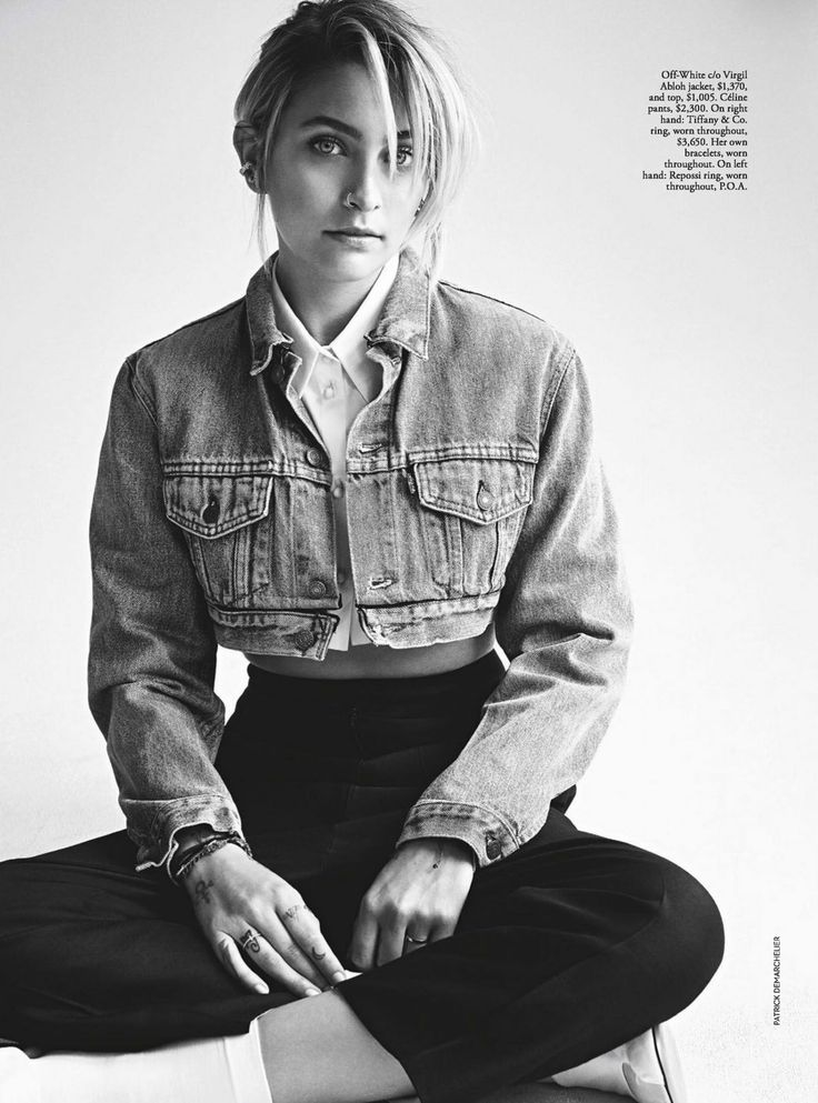 19-year-old Paris Jackson poses for the July 2017 issue of Vogue Australia.