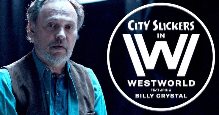 Billy Crystal Returns in City Slickers Meets Westworld Mashup Video -- Billy Crystal is back in a very funny Westworld spoof that reveals his Mitchie the Kid from City Slickers was always just a robot. -- http://movieweb.com/westworld-city-slickers-mashup-video-billy-crystal/