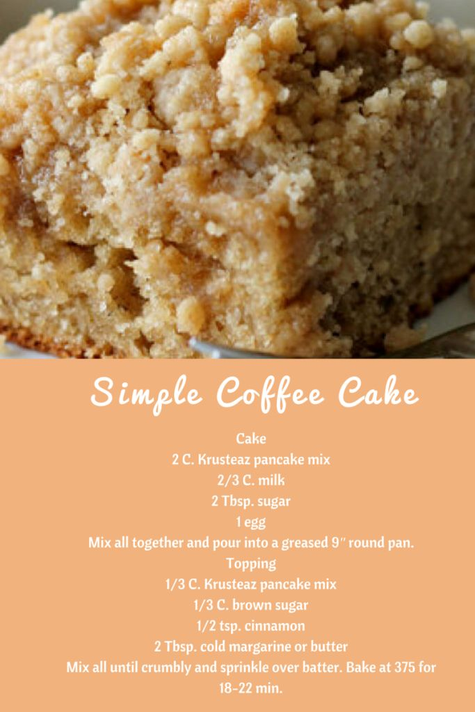 Krusteaz Mixes & Simple Coffee Cake Recipe!  |   Mom the Magnificent