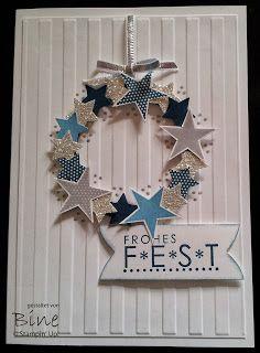 SU Simply Stars, Sassy Salutations Christmas Minis Punches  Stripes E F