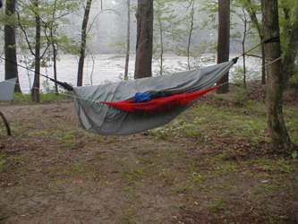 Just Jeff's Homemade Gear - Kids Hammock Cool Site - How To's - Camping w/kids & making a kids Hammock