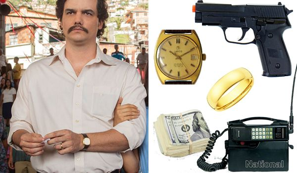 Pablo Escobar (Narcos TV show) Accessories