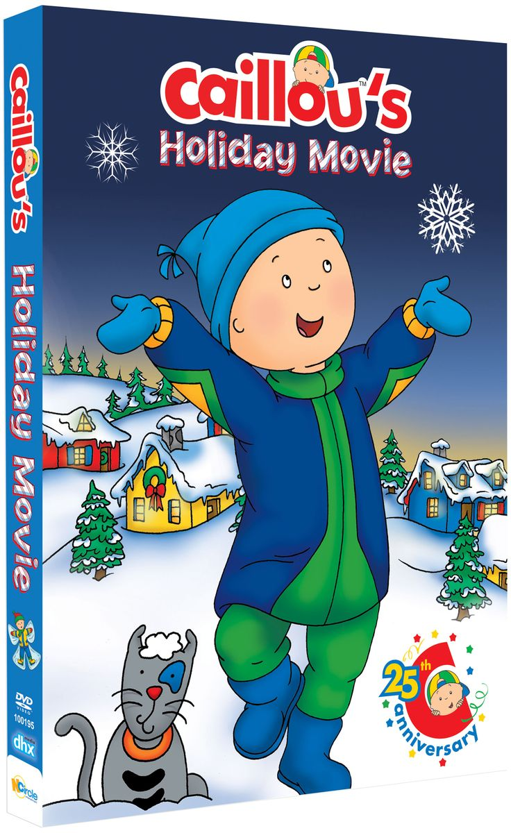 """Caillou's Holiday Movie"" is now on DVD! http://www.amazon.com/Caillous-Holiday-Movie-Caillou/dp/B00K0MM4KM/ref=sr_1_2?ie=UTF8&qid=1417811478&sr=8-2&keywords=caillou%27s+holiday+movie"