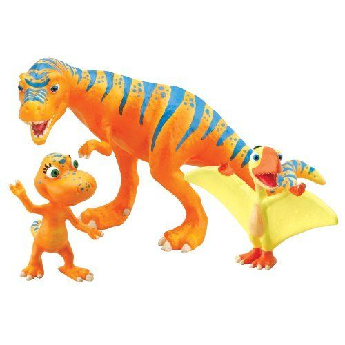 Dinosaur Train - Collectible Dinosaur 3 Pack - Boris, Annie, Pete by Rc2. $21.89. Includes Boris, Annie and Pete. Based on the new Henson PBS show, the Dinosaur Train. Collect all your favorite Dinosaur Train Characters. For ages 3+ years. Includes three plastic dinosaurs featured on the show. From the Manufacturer                Based on the new Henson PBS show, the Dinosaur Train collectible segment enables children to collect all of their favorite Dinosaur Train...