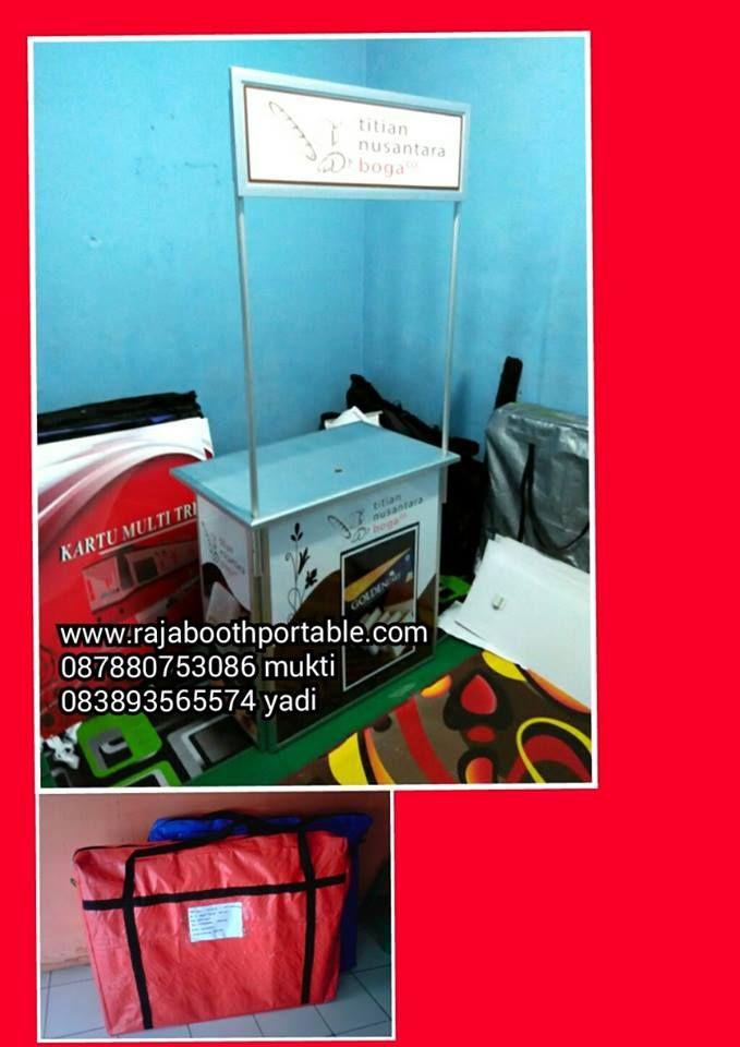 booth portable bisa bongkar pasang ,kokoh dan ringan