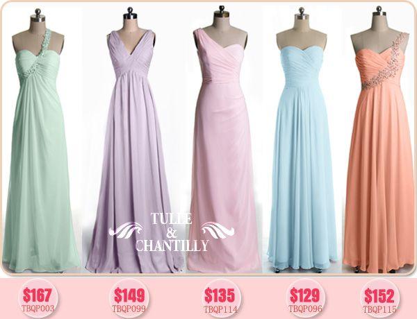 Light Gray Bridesmaid Dresses Knee Length Soft Tulle: 25+ Best Ideas About Pastel Bridesmaids On Pinterest