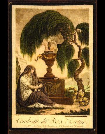 Image séditieuse : urne funéraire avec profils cachés de Louis XVI et Marie-Antoinette, 4