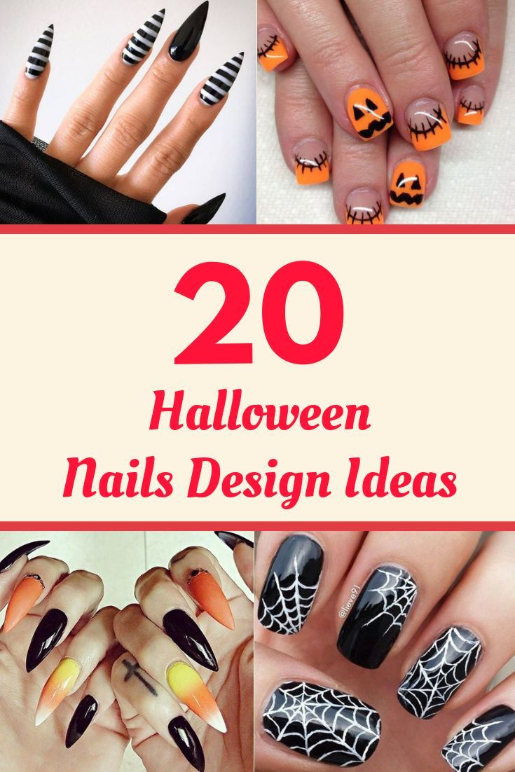 Check Out Our Latest Halloween Nails Design Ideas It Will Tell You About Halloween Nails Easy Step By St Halloween Nails Halloween Nail Designs Diy Nails Easy