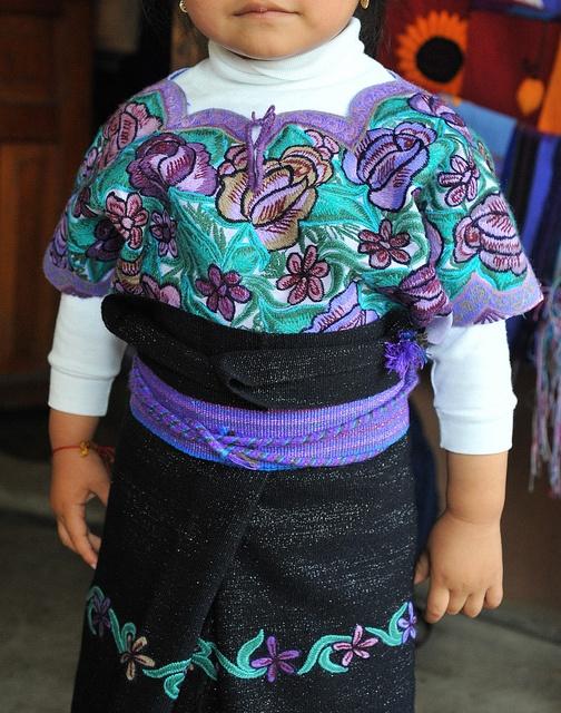 Maya Huipil Mexico by Teyacapan, via Flickr