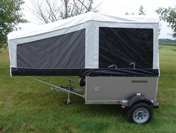 Small but tough, the all-new Livin' Lite 5.0 Quicksilver Mini Tent Camper Folding Camping Trailer measures 5 by 6 feet and weighs just 520 lbs. [...]