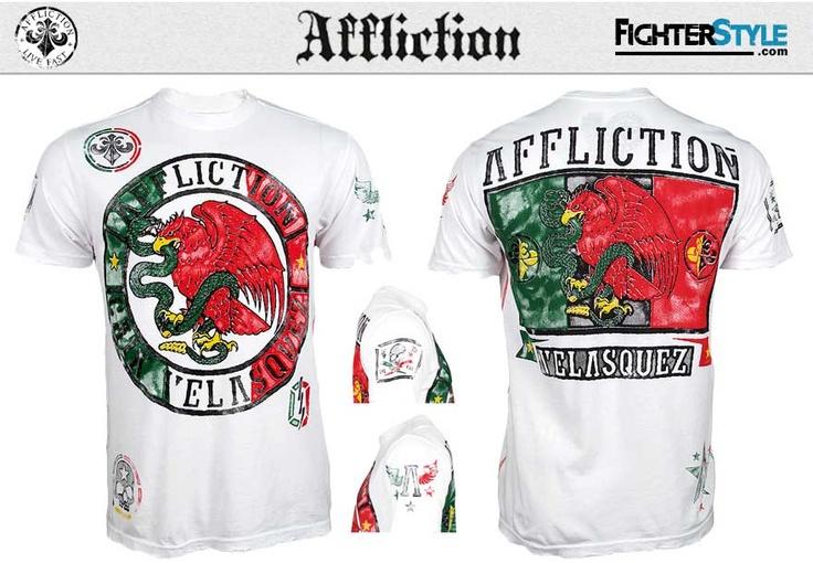 Affliction Cain Velasquez UFC 155 Walkout Shirt - White at http://www.fighterstyle.com/affliciton-cain-velasquez-walkout-shirt-ufc-155/