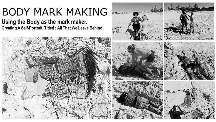 Creating Self Portrait  Body Marking