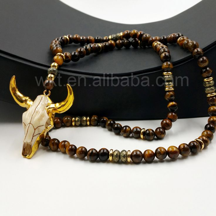 check price wt n776 handmade 32 beads necklace design all match 8mm tiger eye and hematite beads with #tiger #eye #beads
