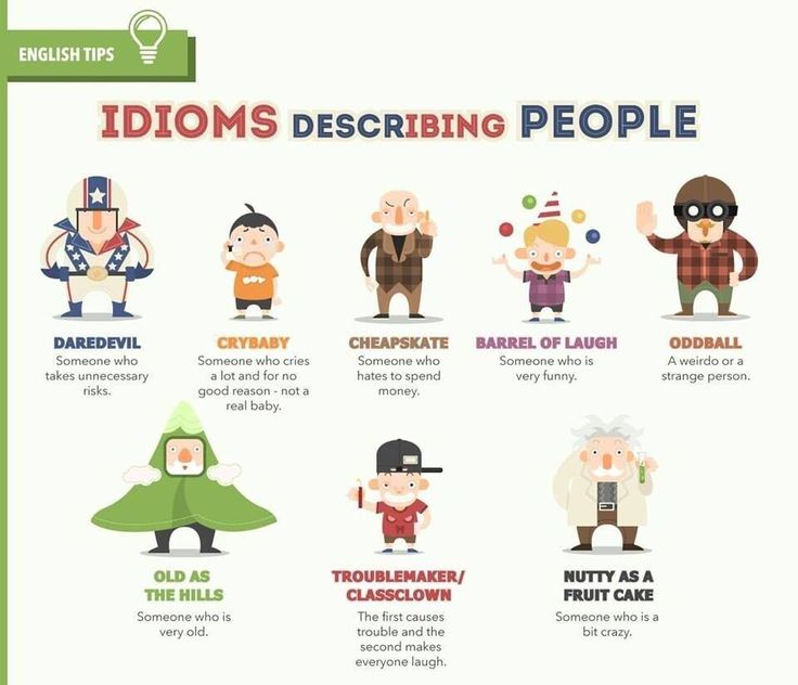 123 best images about Visual Vocab English Idioms on Pinterest