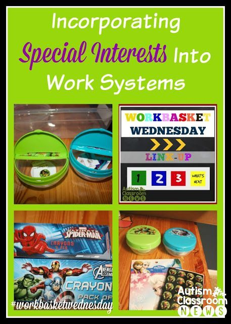 Autism Classroom NewsIncorporating Special Interests Into Work Systems: Workbasket Wednesday