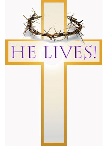 Christ Jesus lives today.  He walks with me and talks with me along life's narrow way. He LIVES! He LIVES!  Salvations to impart, You ask me how I know He LIVES, He LIVES within my heart!