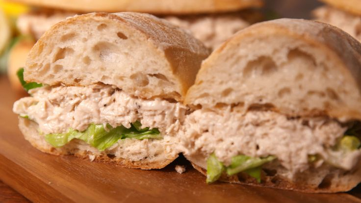Chicken Caesar Sandwiches  - Delish.com
