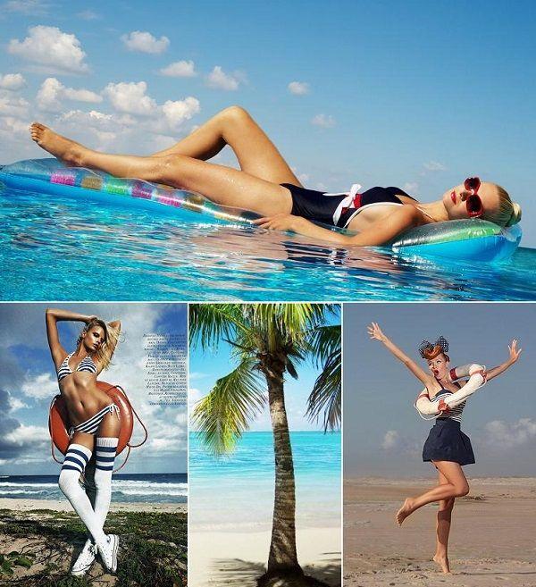 Идеи для пляжной фотосессии - Фотоблог - Блоги - ИЛЬ ДЕ БОТЭ - магазины парфюмерии и косметики