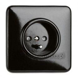 THPG Bakelit electric outlet Cost: 71PLN http://www.dobregniazdka.pl/asortyment/thpg/gniazdo-z-uziemieniem-thpg/4318