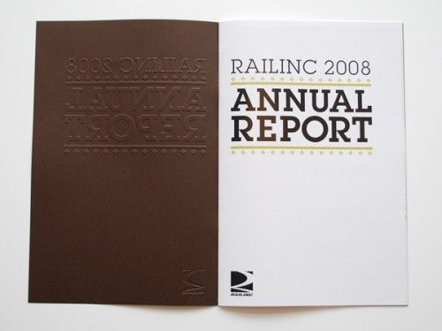Annual report design 15- Railinc