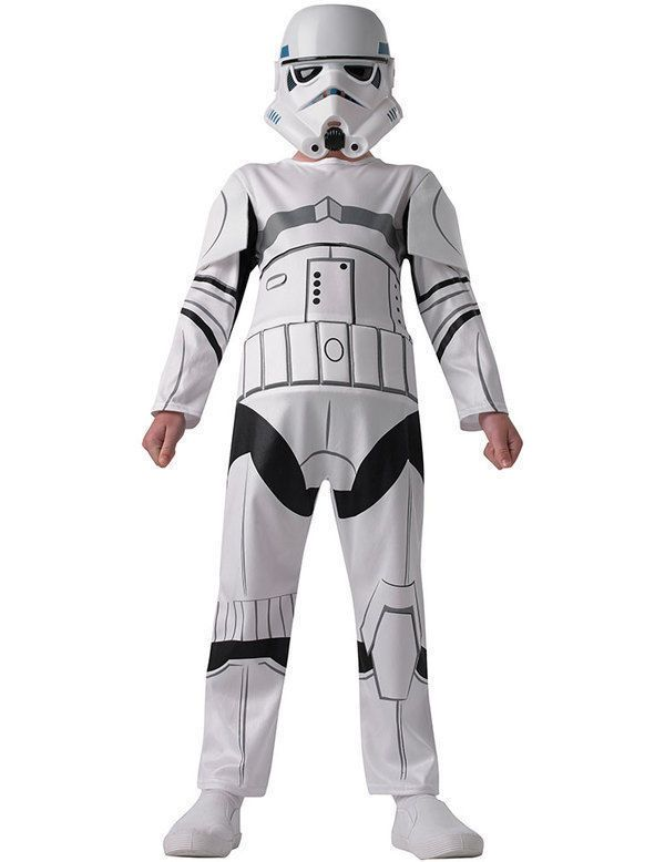 Kids Child Stormtrooper STAR WARS Boys Fancy Dress Costume only £18.95 from our ebay store.