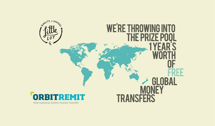 OrbitRemit | 1 Year's Worth of Free Global Money Transfers | Nominates The Contingent