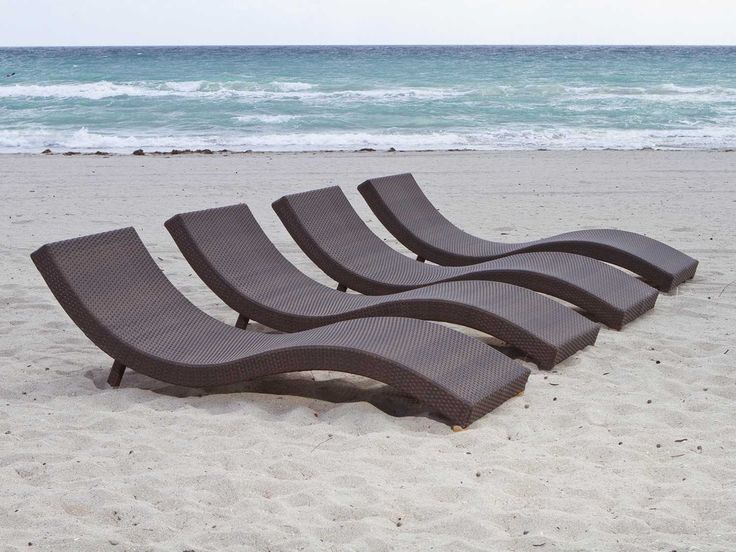 source outdoor wave collection all weather wicker chaise lounge