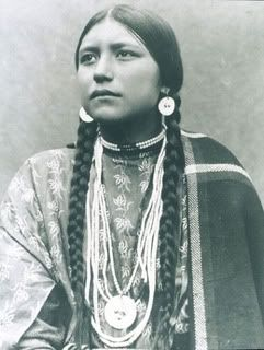 Morning White Dove (Elvis Presley's great, great grandmother. She was full-blooded Cherokee. Elvis was 1/16 Cherokee.)