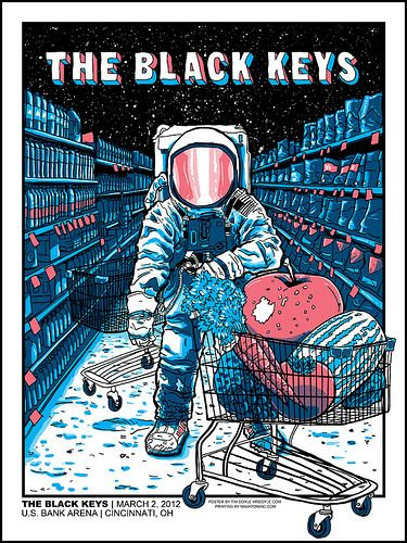 The Black Keys by Timothy Doyle