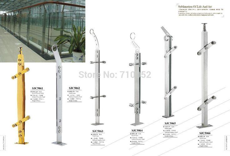 をfreeshipping SJC5066階段アームレスト201ステンレス鋼ガードレール手すり起毛固体小さなクロスバー鋼線