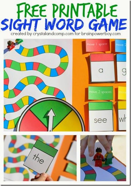 Sight Words - What a fun sight word game for kids from preschool and kindergarten to 1st grade. Perfect for homeschoolers or for extra practice after school.
