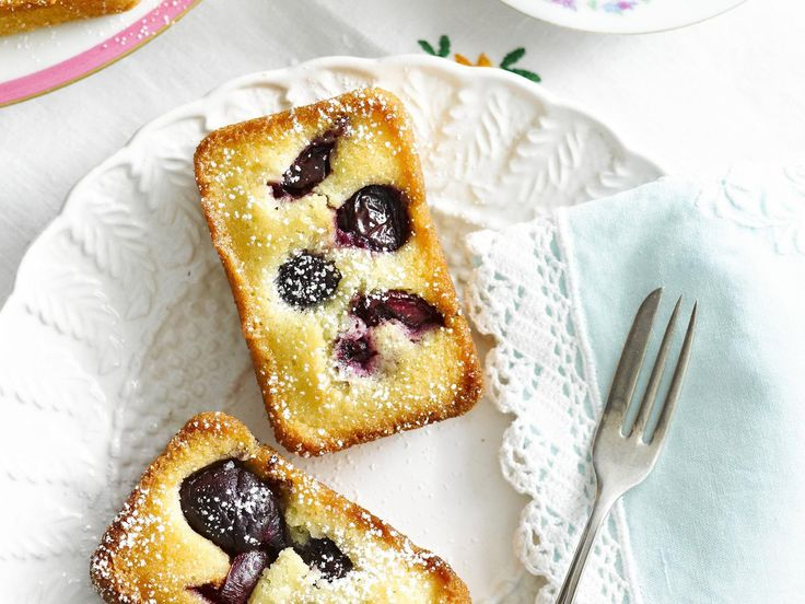 Sweet, golden and wonderfully fluffy, these friands are packed full of juicy cherries to create a perfect morning or afternoon tea treat.