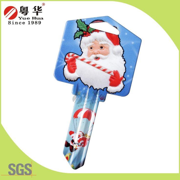 Estilo americano Pai Natal SC1 chave em branco a cores cadeia