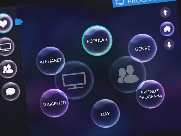 Tv App Bubble