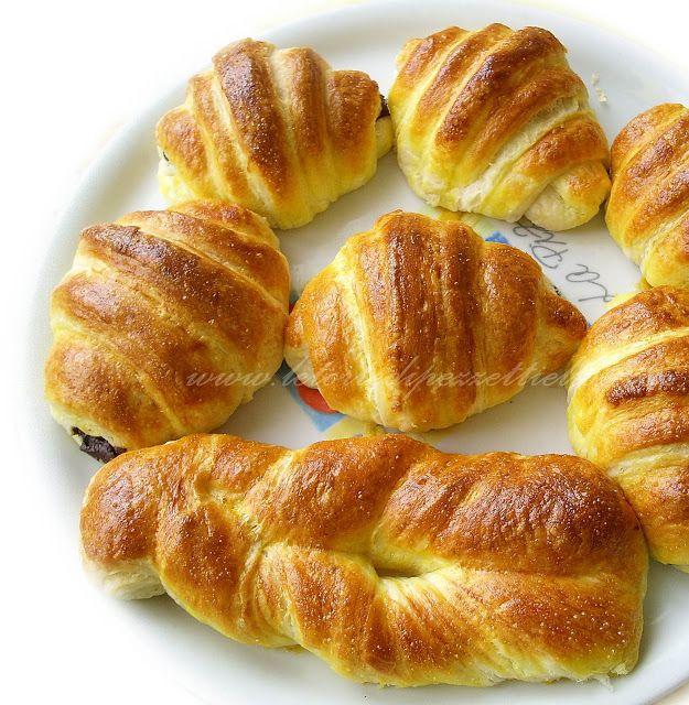Le Torte di Pezzettiello e non solo...: Croissants francesi passo passo