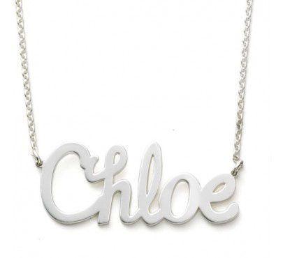 Sarah Chloe name plate, $149 – sarahchloe.com