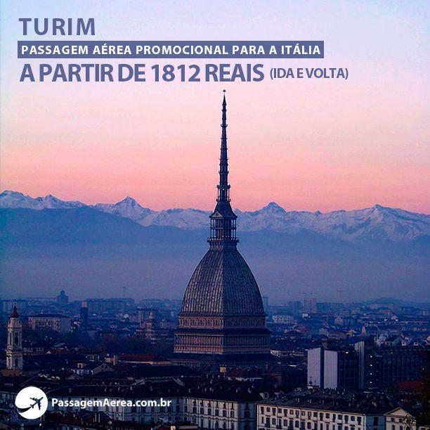 Voos promocionais para a Itália com saídas do Rio de Janeiro.    Saiba mais:  https://www.passagemaerea.com.br/turim-italia.html   #turim #italia #viagem #ferias #passagemaerea