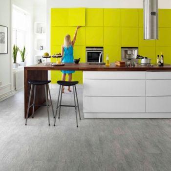 Tarkett iD Selection 40 Concrete Wood White Vinyl Flooring Tiles - Every Floor Direct
