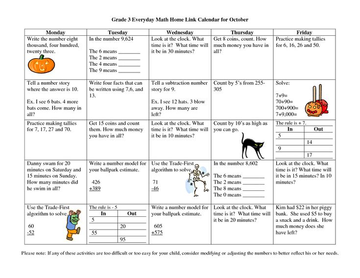 Calendar Activities Grade 2 : Calendar math for third grade everyday home