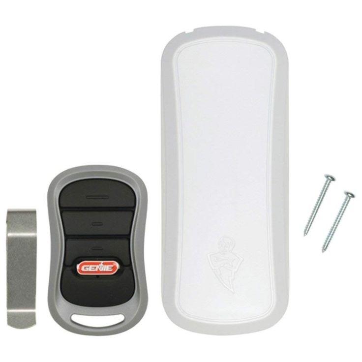 Genie garage door opener 3button remote and wireless