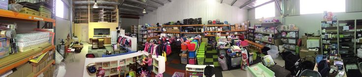 We went to visit Eureka Mums today and check out their new warehouse. It is looking amazing! So much stock and so well organised! Congratulations to their team - Erin, Di, Trinsa, Caroline, Chloe and Michelle for creating such an important resource for the Ballarat community. Its like a giant baby superstore but there are no price tags. Everything is a gift - prepared with love and kindness and given to families in need. Please share this post with your Ballarat friends so that they know…