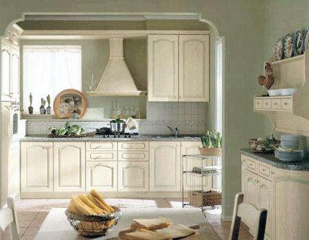 Pale Blue Kitchen Green Deco Glaze
