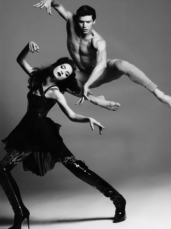 Mariacarla Boscono and Roberto Bolle photographed by Paola Kudacki for Hercules.